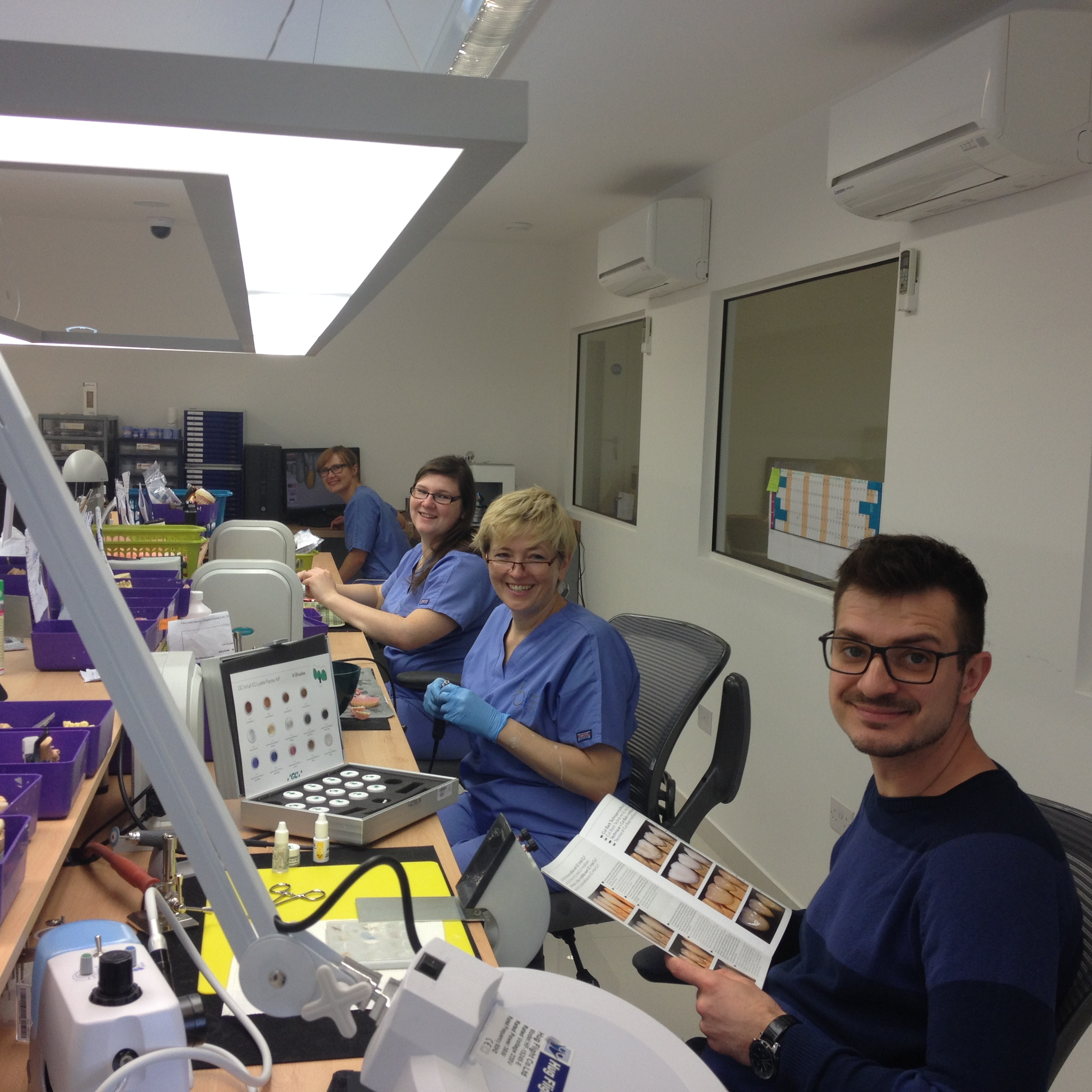NEW DENTAL LABORATORY IN WORTHING'S GUILDBOURNE CENTRE